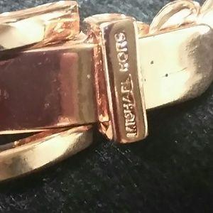 NWOT! rose gold Michael kors chain brac